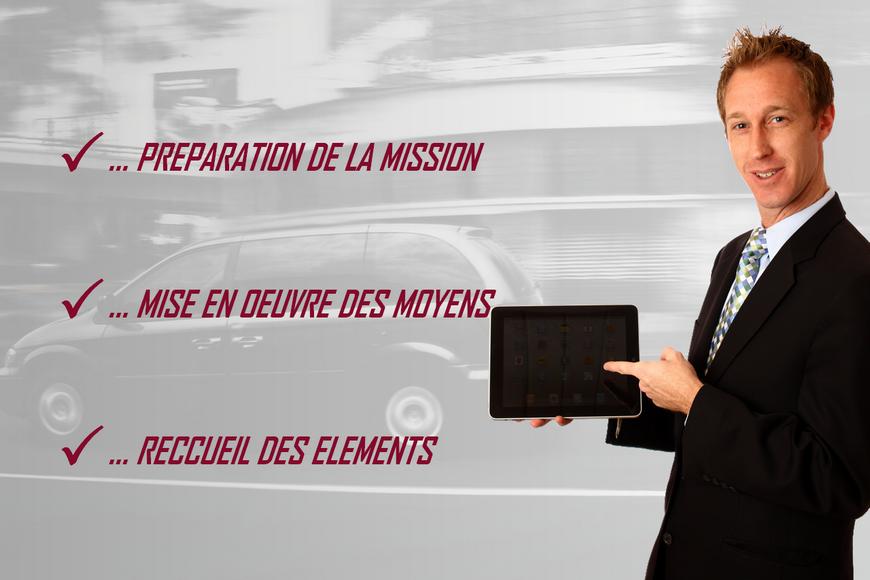 detectives prives paris, préparation et mise en oeuvre des moyens pour recueillir les éléments de preuves